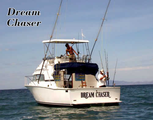 Papagayo charter boat Dream Chaser