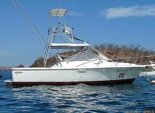Tuna fish fishing boat papagayo sport fishing for Tuna fishing boats