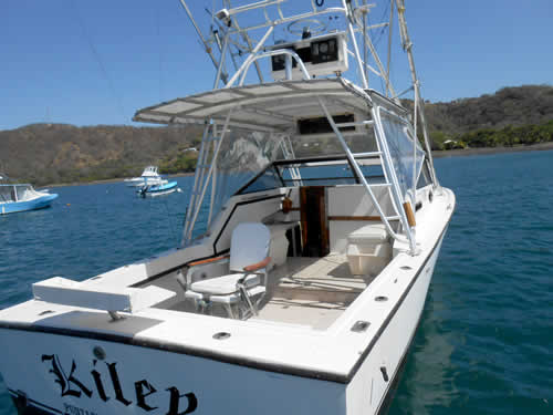 Kiley Fishing boat Guanacaste