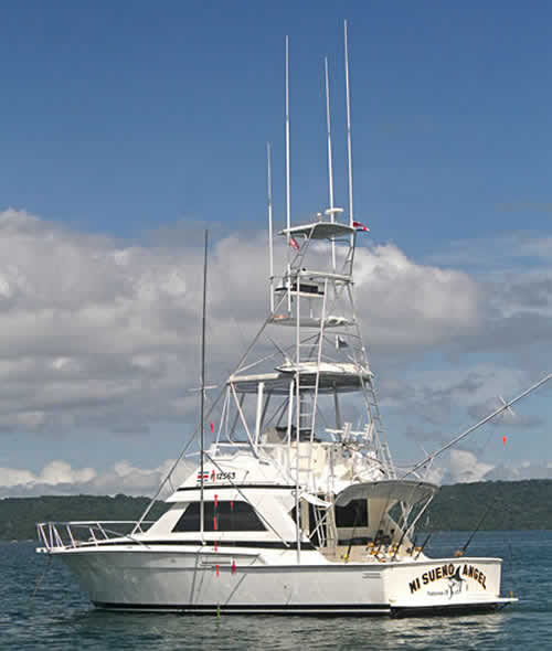 Papagayo fishing boat MI SUENO ANGEL