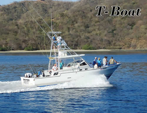 Papagayo fishing boat T-BOAT