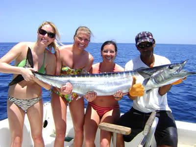 Four Seasons Papagayo fishing