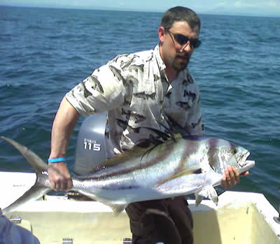 Peninsula de Papagayo inshore fishing for roosterfish