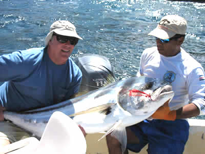 Playas del Coco fishing charter for roosterfish