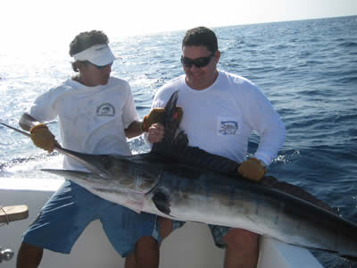 fishing charters out of the Riu Guanacaste resort