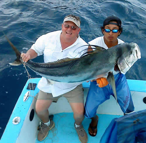 Papagayo Roosterfishing charter