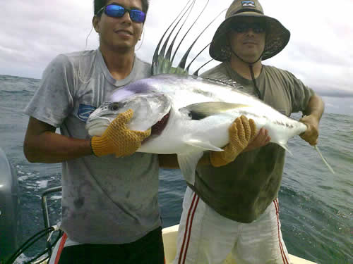 Roosterfishing fest in Papagayo