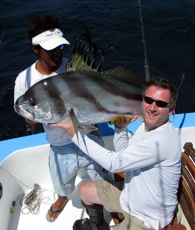 Four Seasons Papagayo Rooster fishing charter