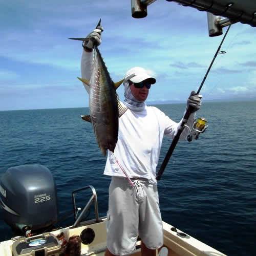 inshore fishing in Papagayo