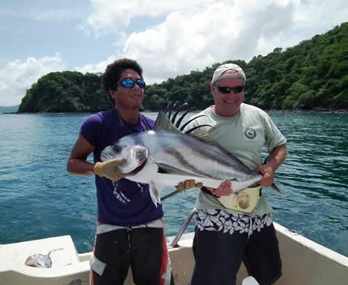 inshore fishing in gulf of Papagayo