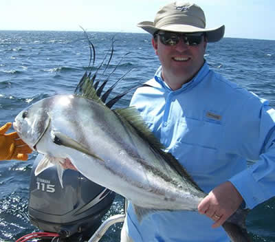 Rooster fishing charter