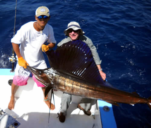 Fishing charters out of Playa Conchal