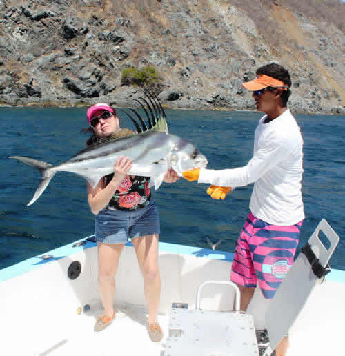 roosterfishing in papagayo