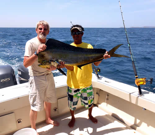 Offshore Fishing out of Playa del Coco