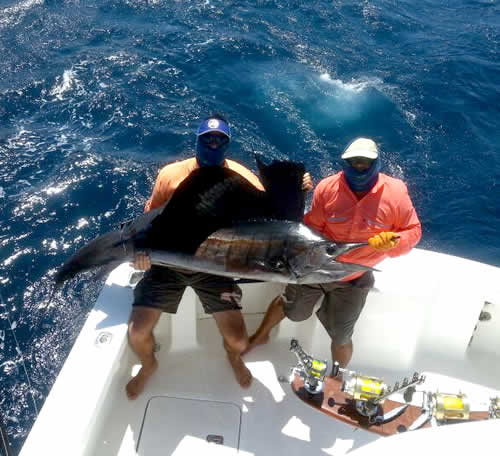 inshore fishing out of Four Seasons Papagayo