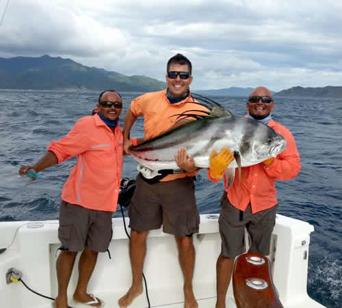 fishing out of Four Seasons Papagayo