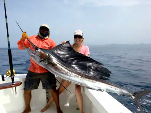 inshore fishing out of Exclusive Resort in Papagayo