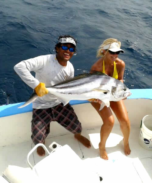 Ginger Copeland group inshore fishing charters