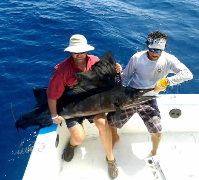 Ginger Copeland deep sea fishing charters