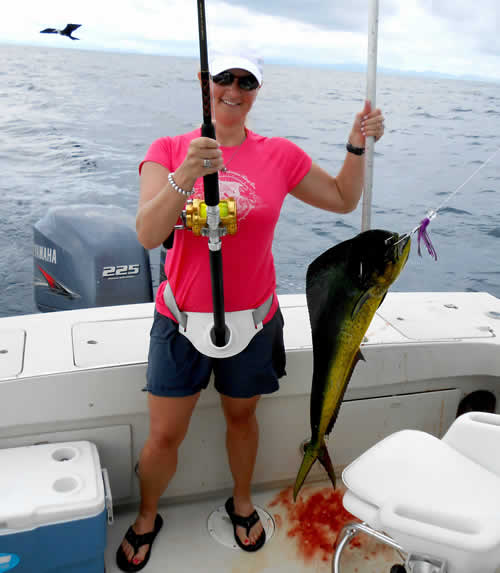 Phillip Bryan Moore and Heidi More deep sea fishing charters