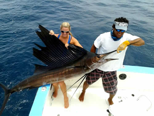 Chris Griffin wife sea fishing