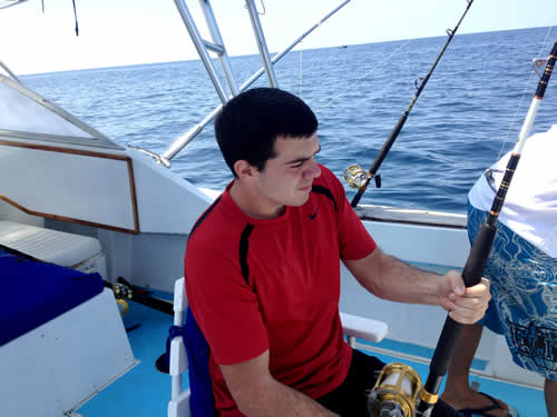 Fishing out of Playa Hermosa with Tom and Joe Roibal