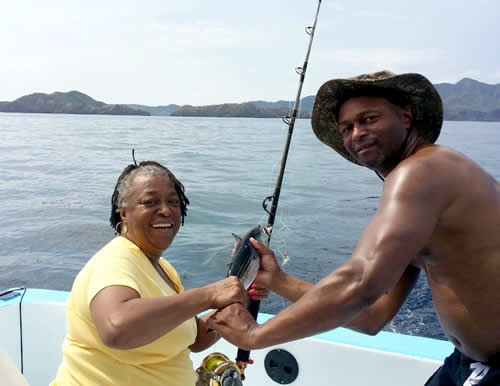 Rowland Spencer fishing charter out of Playa Hermosa