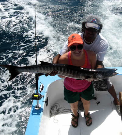 inshore fishing out of Playas del Coco
