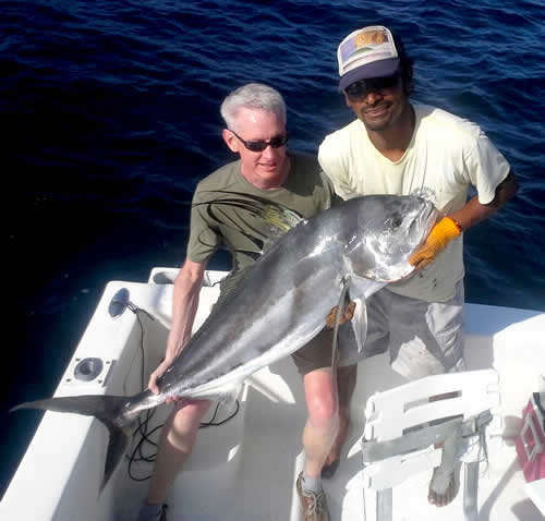 Inshore charter out of Ocotal beach