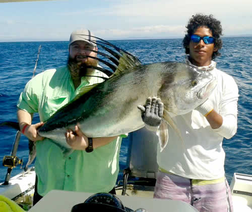 Roosterfishig out of Riu Guanacaste