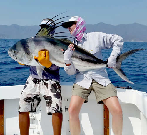 Inshore fishing for roosterfish