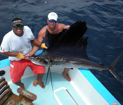 Offshore fishing out of Riu Guanacate