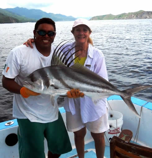 Roosterfishing out of Playas del Coco