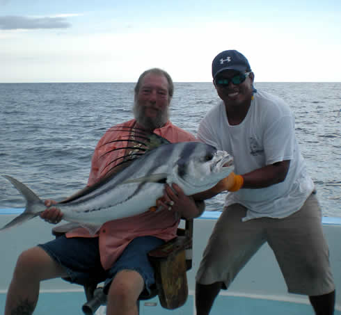 Playas del Coco inshore fishing for rooster